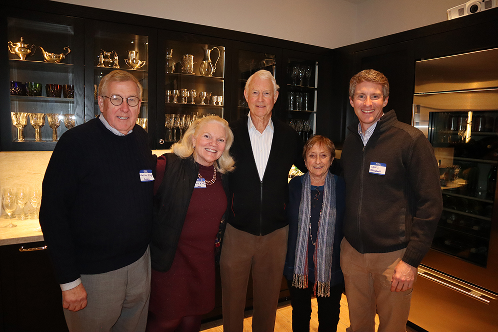 Warren Klug, longtime Aspen High School college guidance counselor Kathy Klug, Jim Light, Vivian Waldeck and Dave Smith who serves as executive director for Roaring Fork PreCollegiate.