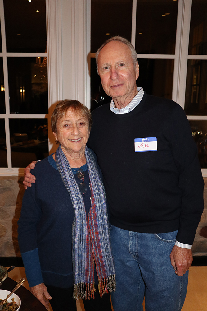 Vivian and Tom Waldeck.