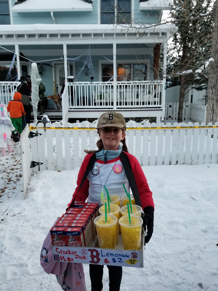 The queen of concessions at the North 40.
