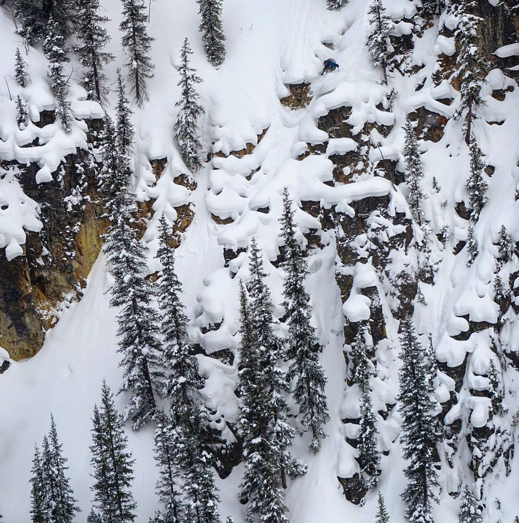 John Spriggs of Frisco skis in the backcountry of Colorado in the ski film