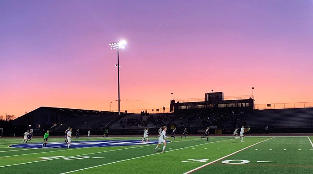 The Roaring Fork Rams battle Salida on Wednesday evening in the 3A state soccer semifinal game at All City Stadium in Denver. The Rams won 2-1 to advance to the state championship game Saturday.