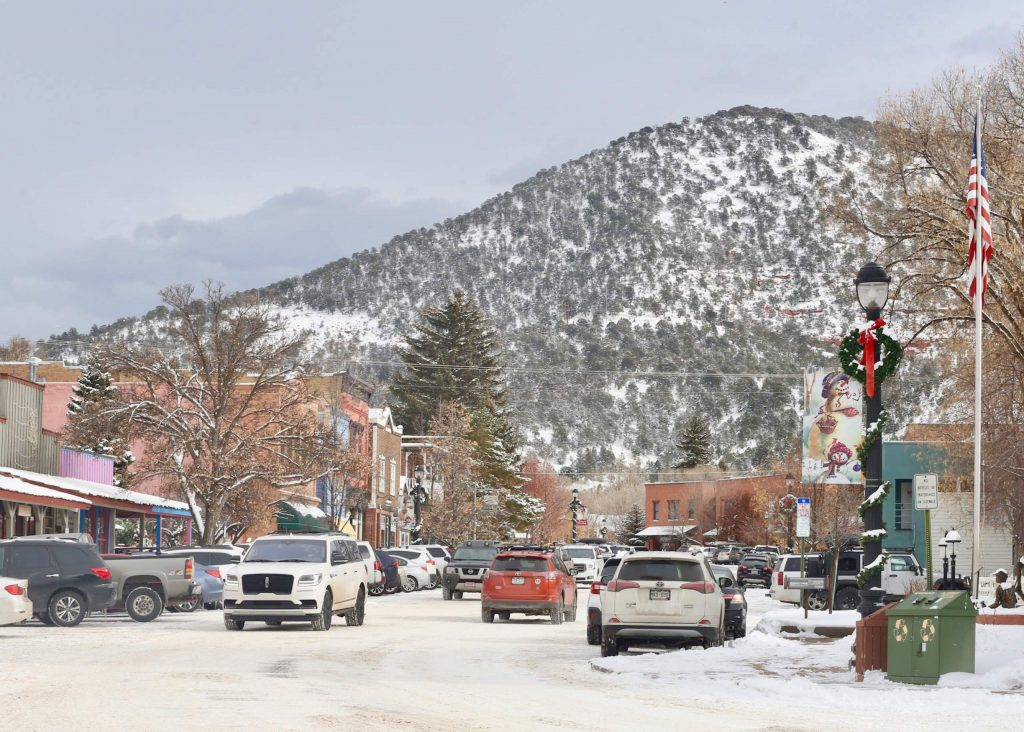 Downtown Basalt on Wednesday, Nov. 27, 2019. (Photo by Austin Colbert/The Aspen Times)