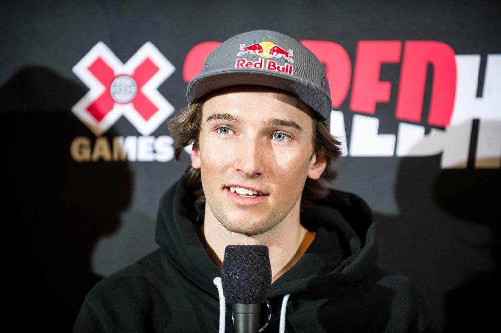 Torin Yater-Wallace talks during a past X Games press conference.