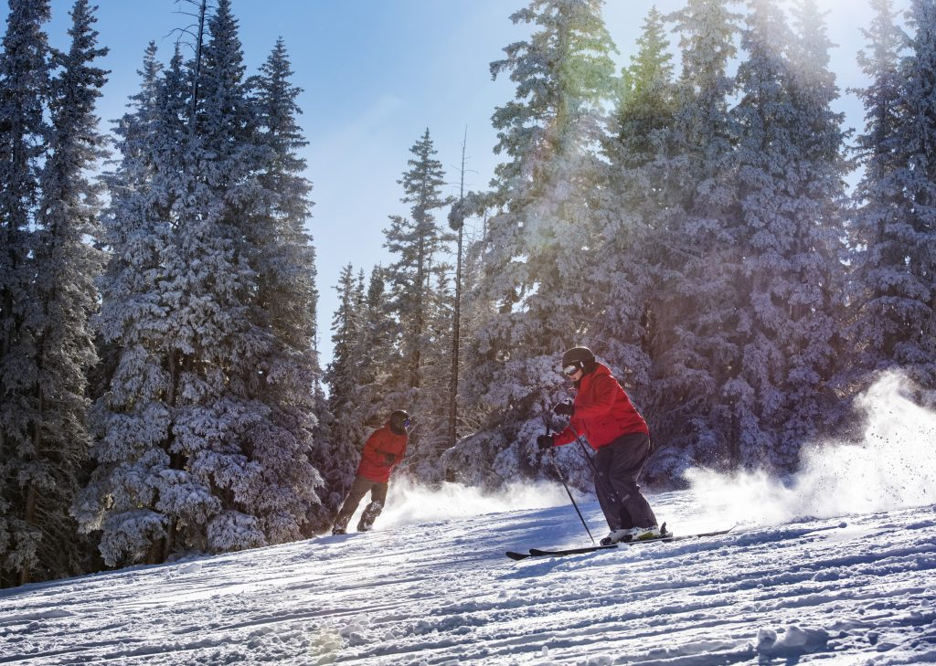 Hundreds of skiers and riders were on on Aspen Mountain early Saturday for opening day 2019-20.