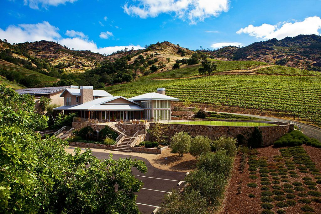 "The tasting room at Shafer Vineyards in the Stags Leap District of the Napa Valley regularly morphs into a recording studio for Doug Shafer's ""The taste"" podcast."