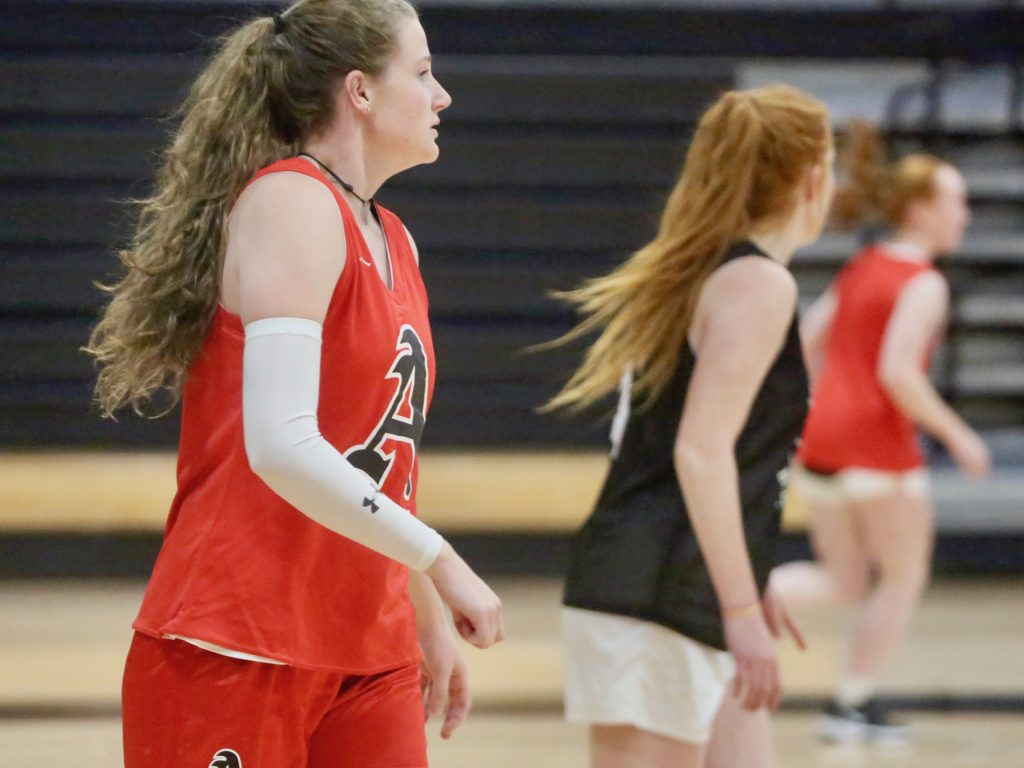 Aspen High School girls basketball practice on Wednesday, Dec. 4, 2019. (Photo by Austin Colbert/The Aspen Times)