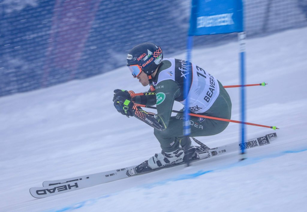 American Ted Ligety, 35, finished eighth in the Birds of Prey giant slalom at Beaver Creek on Sunday. Fellow American Tommy Ford won the race, the first American to win a Birds of Prey race since Ligety won himself in 2014.