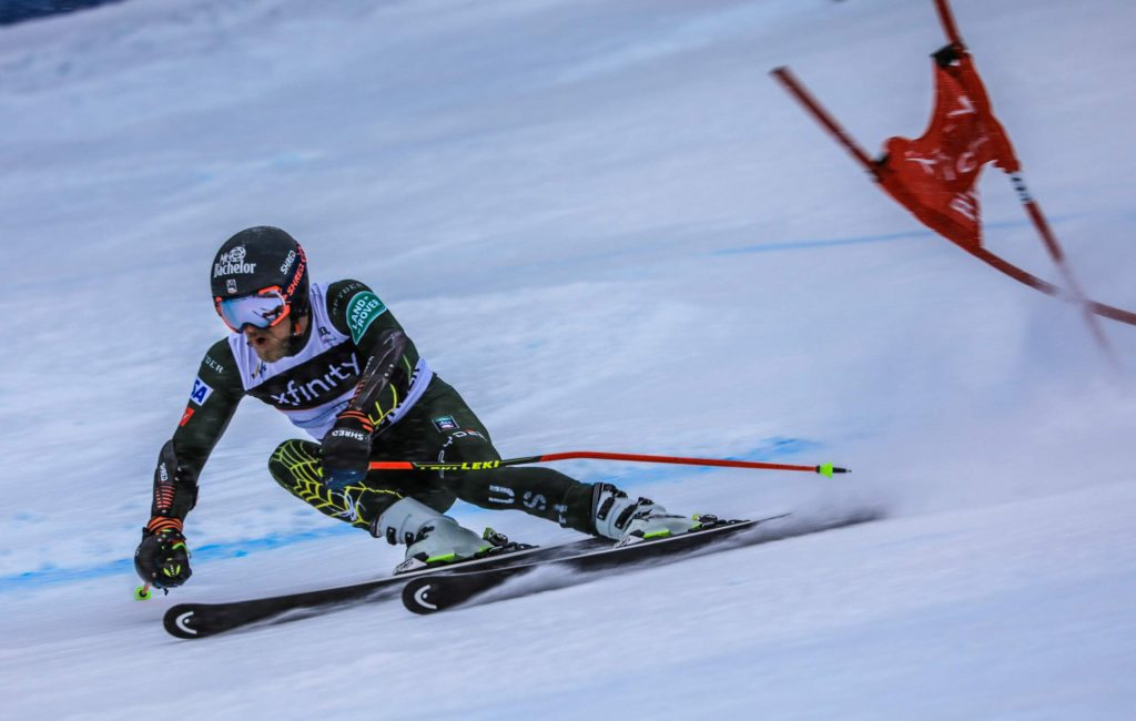 Tommy Ford races his way to his first World Cup win at the Xfinity Birds of Prey on Sunday at Beaver Creek. The American had multiple top 10 finishes in World Cup races in his career, but this is his first win.