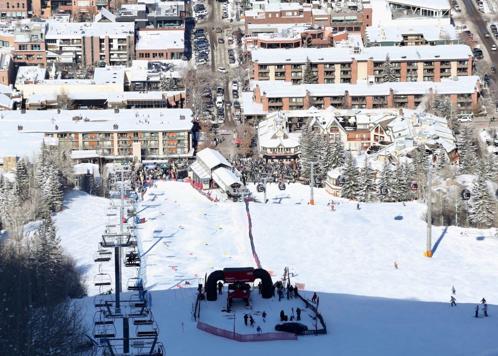 The Audi Ajax Cup on Monday, Dec. 30, 2019, at Aspen Mountain. (Photo by Austin Colbert/The Aspen Times)