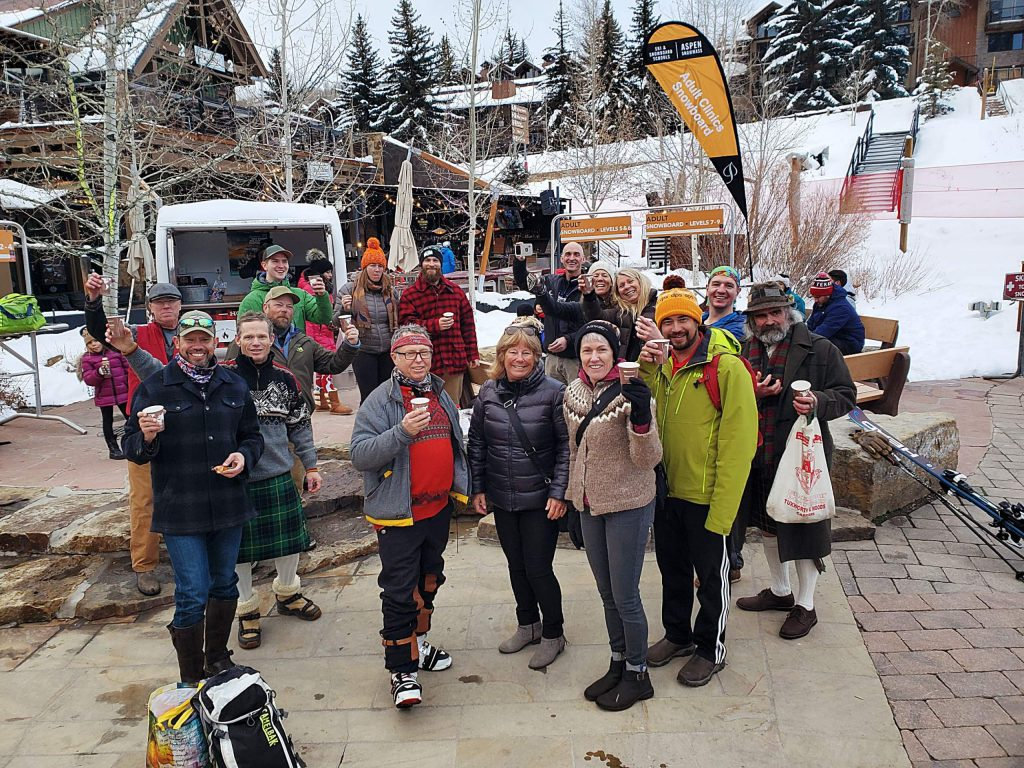 The sport of telemarking is alive and well, evidenced by a special gathering for telemarking enthusiasts held Dec. 13 at Aspen-Snowmass Ski School.