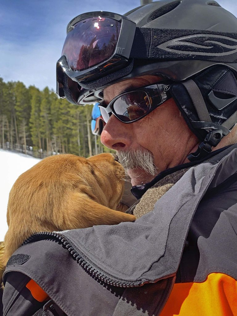 Some ski patrol directors, at first encounter, appear grumpy. With the Aspen Highlands cirector Mac Smith, we have an ongoing conversation that if he is not careful, he is going to completely dispel the myth of grumpy patrollers.