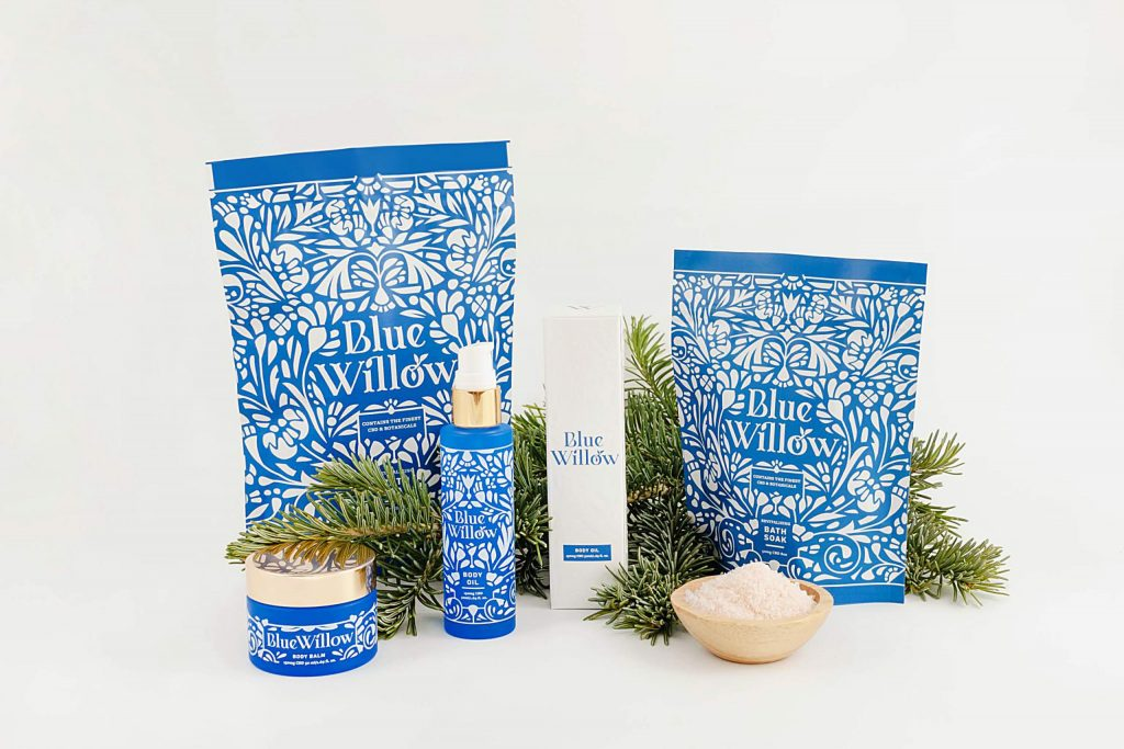 Blue Willow Winter Wellness Set