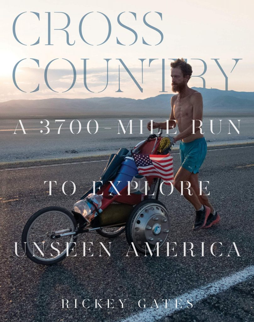Aspen runner Rickey Gates' first book is expected to go on sale this spring.