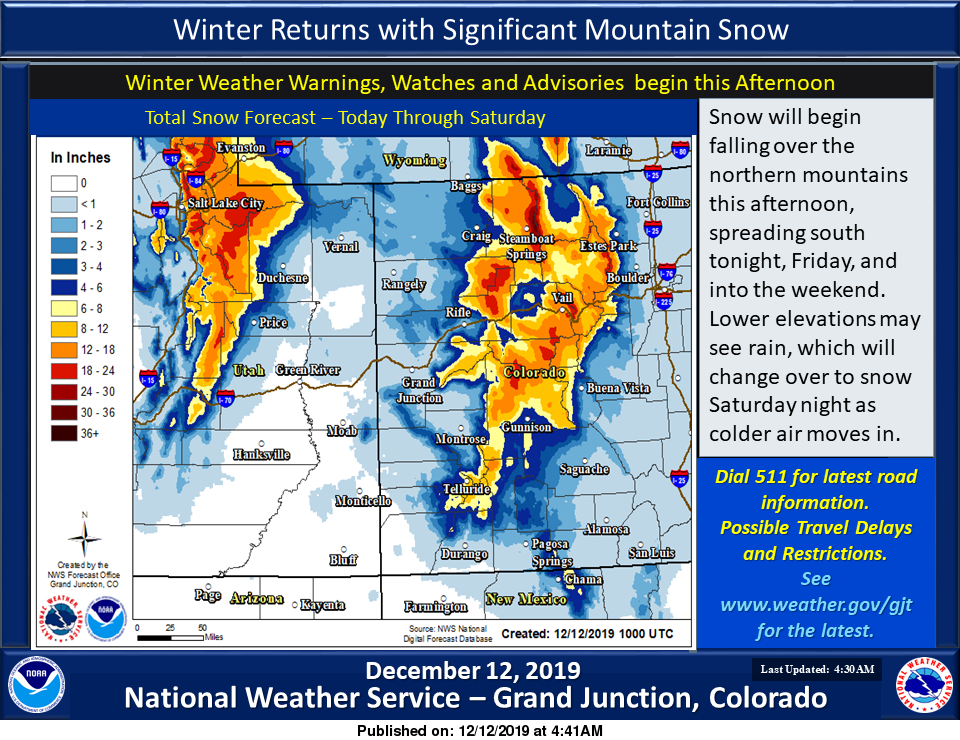 Here it comes: Storms forecast to drop nearly 2 feet of snow around Aspen, Colorado mountains