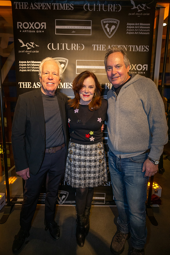 Writer Mark Seal with wife Laura Blocker and AAM Board co-president Paul Parise Paul Pariser.