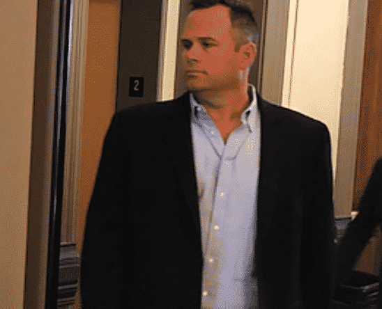 Derek Johnson walks into the Pitkin County Courthouse in November before his plea deal in his case about stealing merchandise from Aspen Skiing Co.