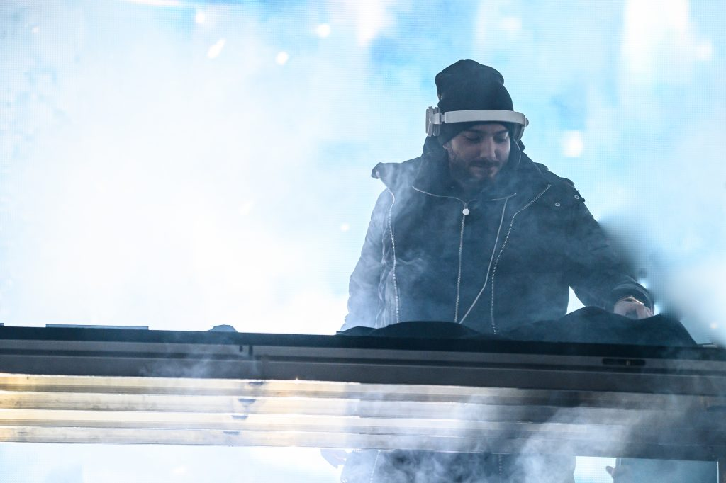 Alesso performs at X Games Aspen on Saturday night. (Dale Pistole/Special to the Aspen Times.)