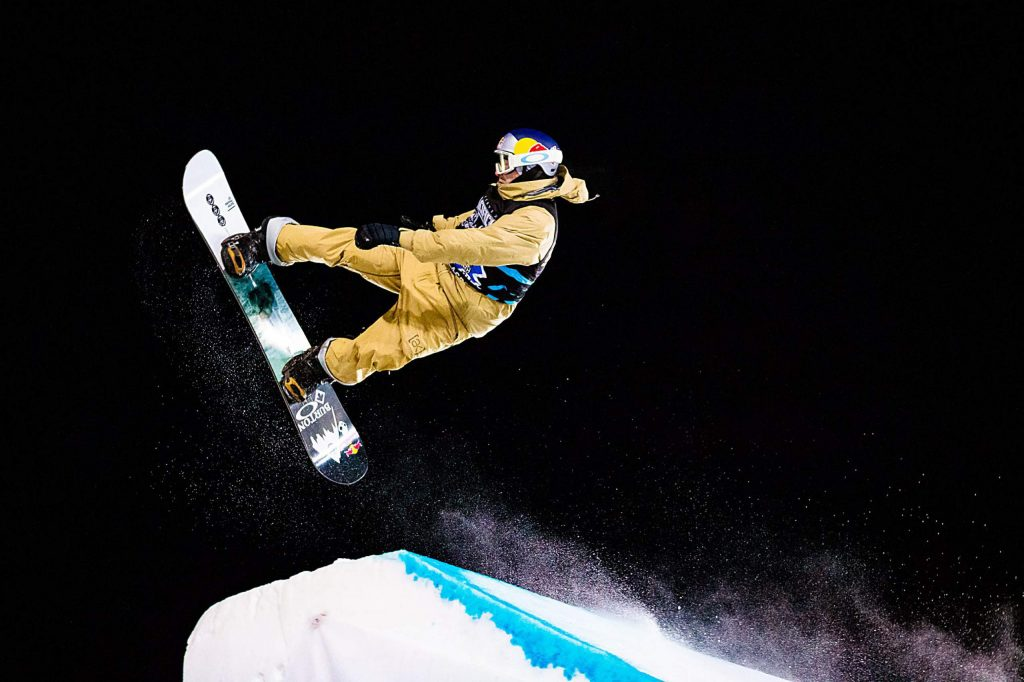 Mark McMorris wins silver in X Games Aspen's men's snowboard big air final on Saturday, Jan. 25, 2020, at Buttermilk Ski Area in Aspen Snowmass, Colo. (Liz Copan/Summit Daily News via AP)