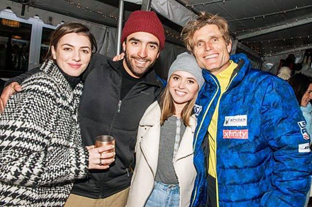 Kyra Kennedy, Teddy Shriver, Chessy Shriver and Anthony Shriver attended a winter rosé tasting aprés ski event at the new Snow Lodge pop-up in Aspen on Dec. 29. The event was in celebration of Nicole Miller's namesake rosé wine, which launched in the summer.