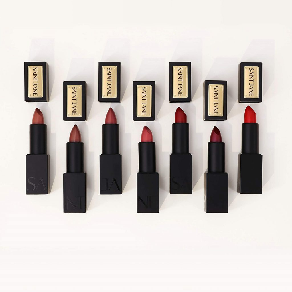 The Saint Jane Microdose Lipstick collection will launch later in 2020.
