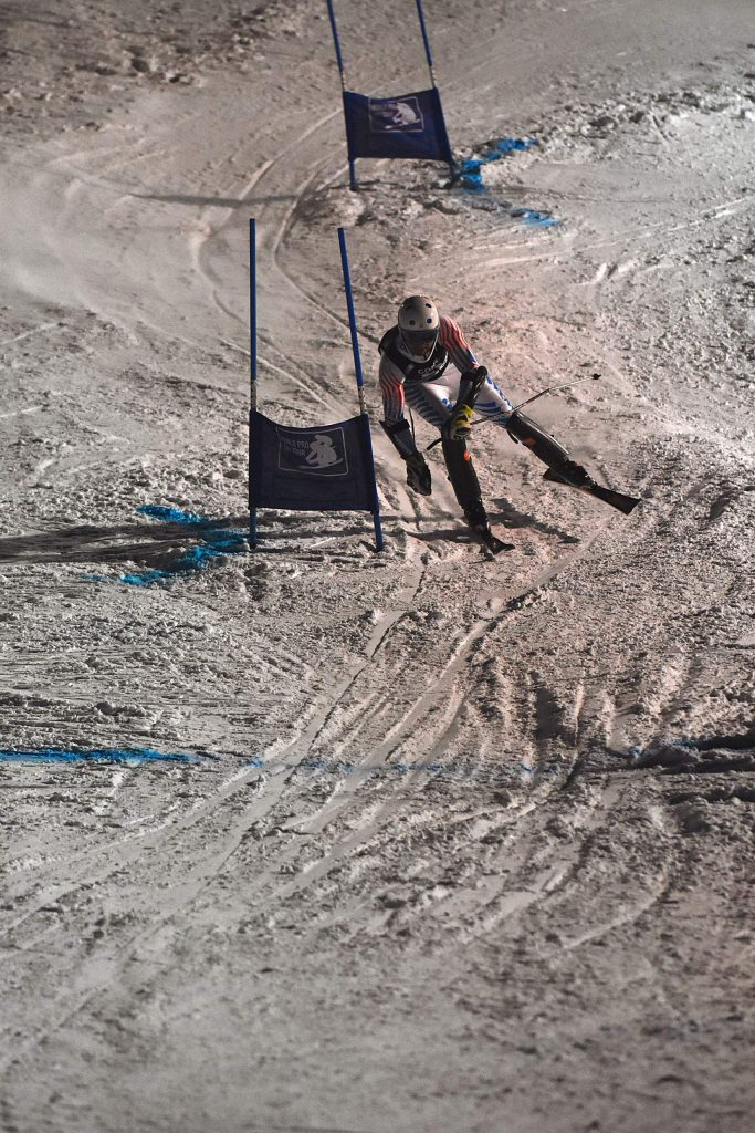 Robert Cone was the victor in the World Pro Ski Tour race at Howelsen Hill on Thursday, Jan. 2.