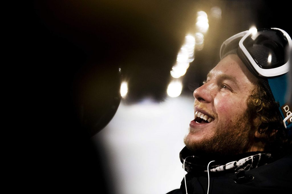 Aaron Blunck after taking home the silver medal from the men's ski superpipe final on Sunday, Jan. 26, 2020. (Kelsey Brunner/The Aspen Times)