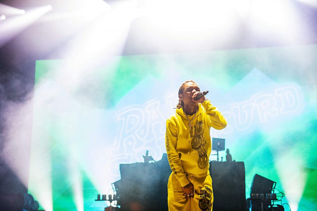 Rae Sremmurd performs at the first concert of the 2020 X Games Aspen on Friday, Jan. 24, 2020. (Kelsey Brunner/The Aspen Times)