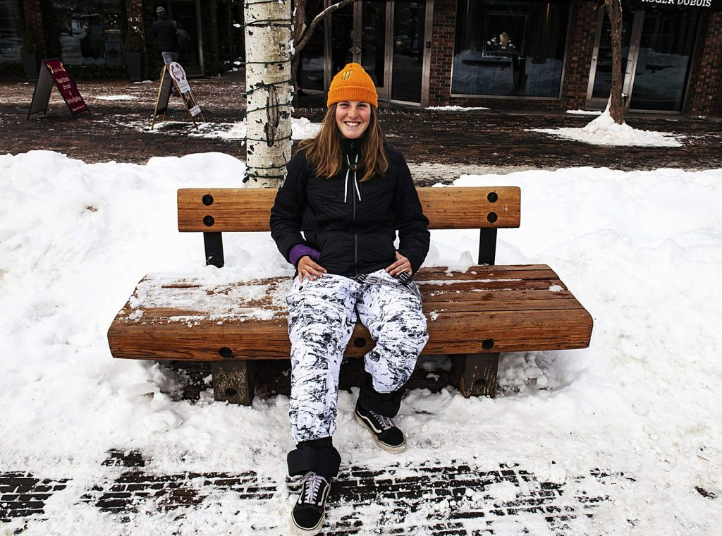 Basalt's Hanna Faulhaber, 15, will compete in halfpipe skiing later this month at the Youth Olympic Games in Switzerland.