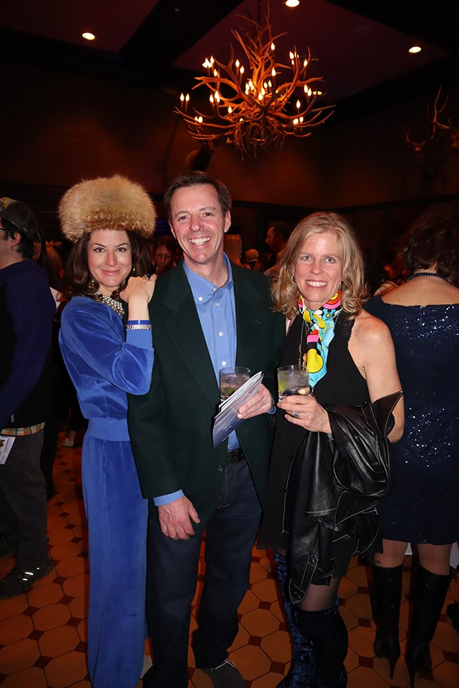 Michelle Stiller with Mark and Tori Campisi.