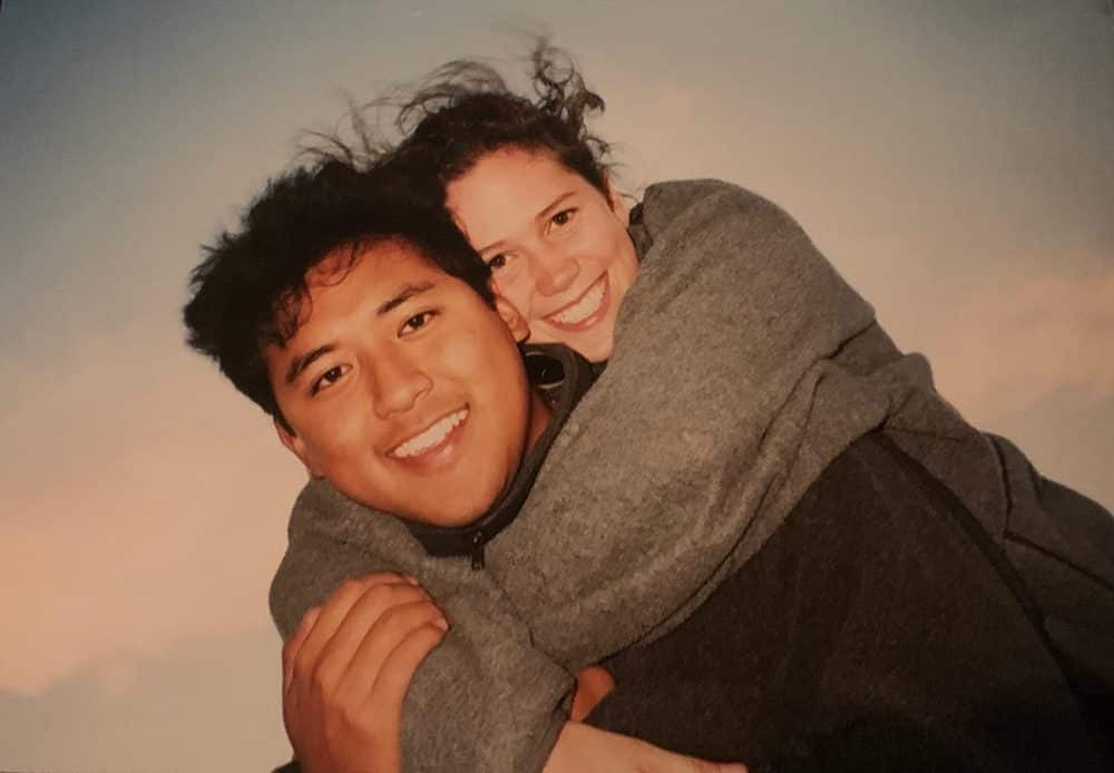Pete and Ginny Yang, circa 1999, who have been Valentines for more than 20 years.