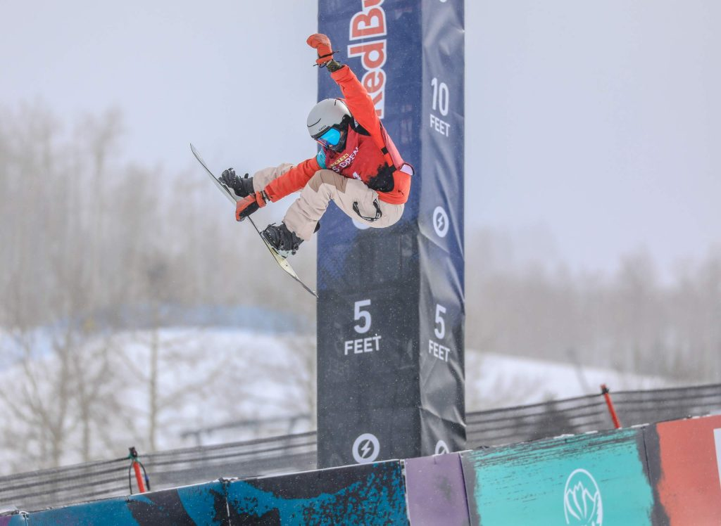 Edwards resident and SSCV rider Beckett Depriest, 10, competed in his first Burton US Open Junior Jam on Tuesday.