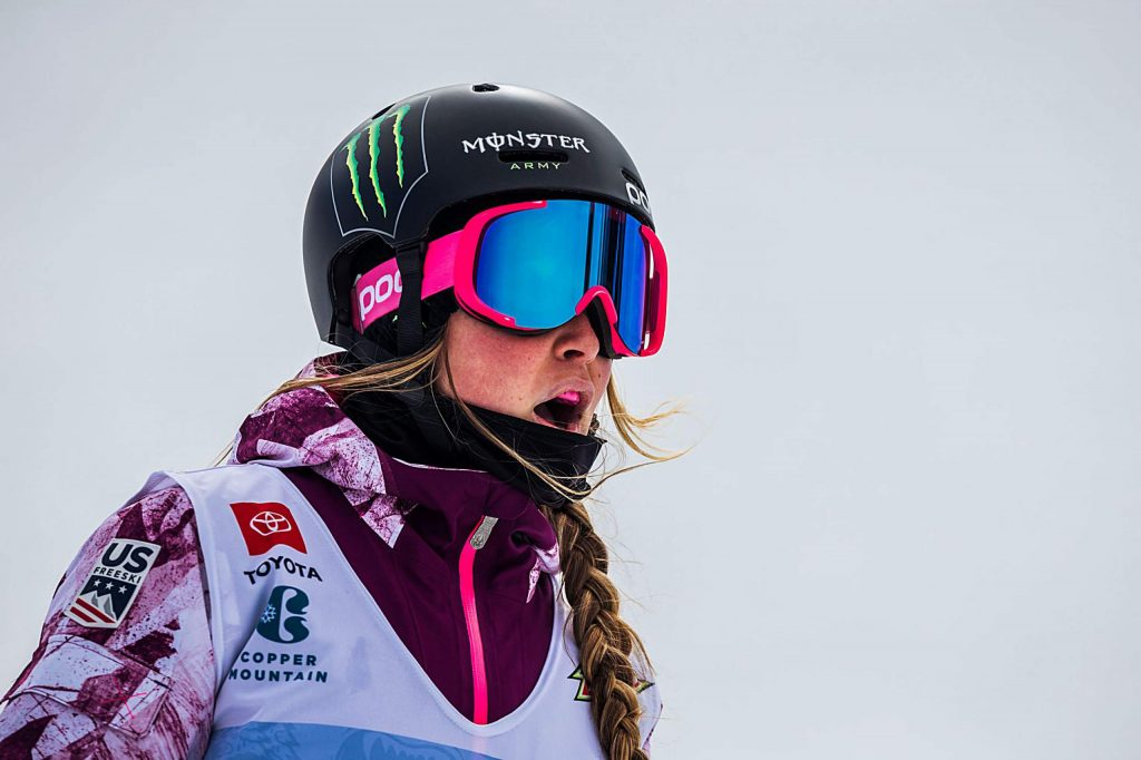 Abigale Hansen places fourth with a 79.66 in the women's ski modified superpipe competition on Saturday, Feb. 8, day three of the Winter Dew Tour at Copper Mountain.