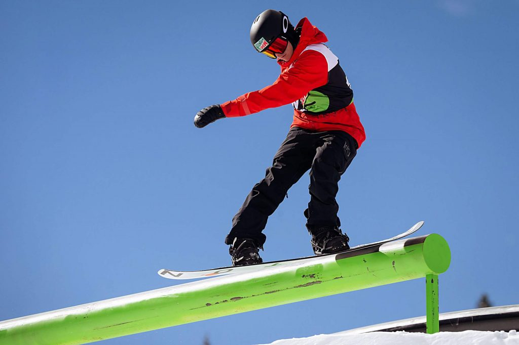 Red Gerard takes gold in the men's snowboard slopestyle final with a 97.33 on Saturday, Feb. 8, day three of the Winter Dew Tour at Copper Mountain Resort.