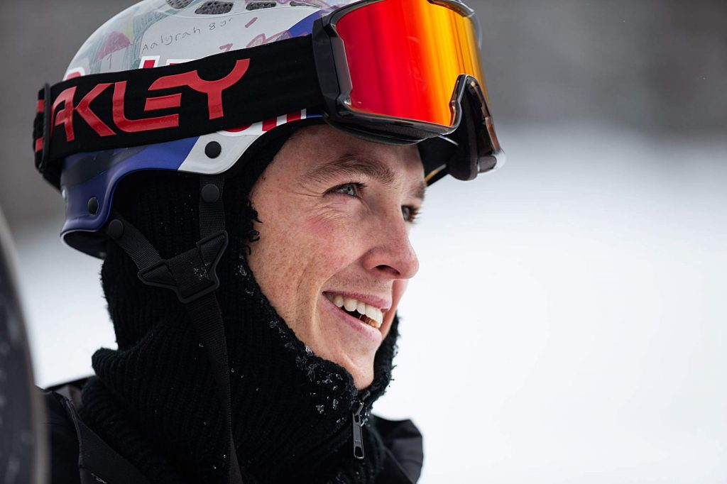 Australian Scotty James smiles after winning his eleventh-straight snowboard superpipe competition with a score of 95.33 at Copper Mountain's Winter Dew Tour on Sunday, Feb. 9.