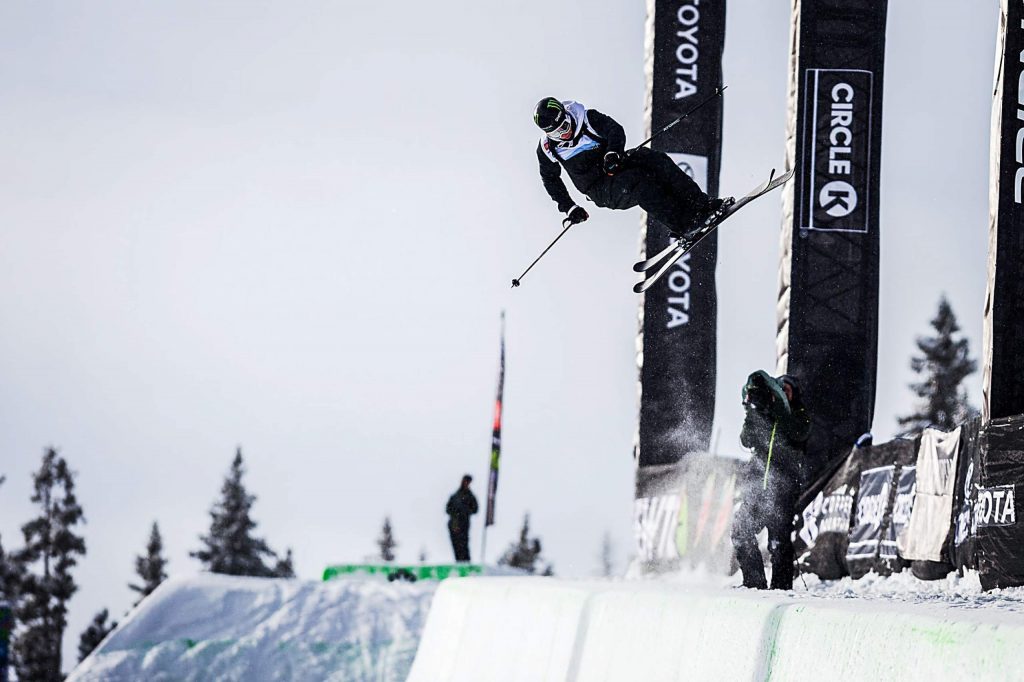Gus Kenworthy of Telluride places second in the men's modified ski superpipe final with a score of 92.66 at Copper Mountain's Winter Dew Tour on Sunday, Feb. 9.