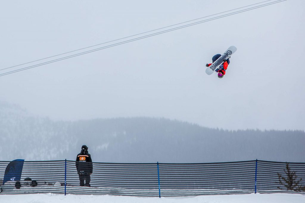 Canadian snowboarder Darcy Sharpe was the runner-up qualifier at the Burton US Open men's slopestyle semifinals Wednesday in Vail. Finals are Friday.
