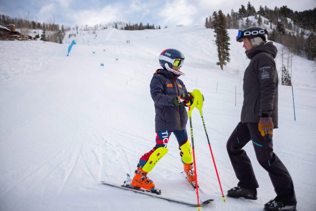 Erin Young recently began her role as the Aspen Valley Ski and Snowboard Club's dedicated athletic trainer.