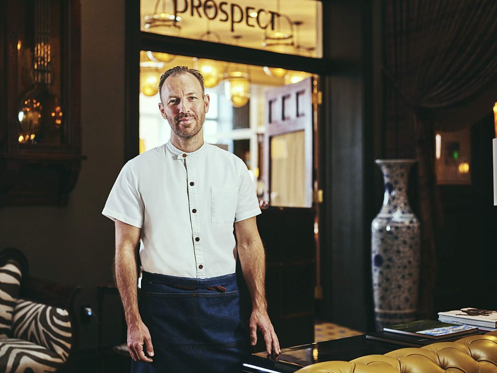 Chef Mads Refslund, co-founder of the esteemed Noma restaurant in Copenhagen, settles into a two-month residency at the Hotel Jerome, where he's offering a six-course