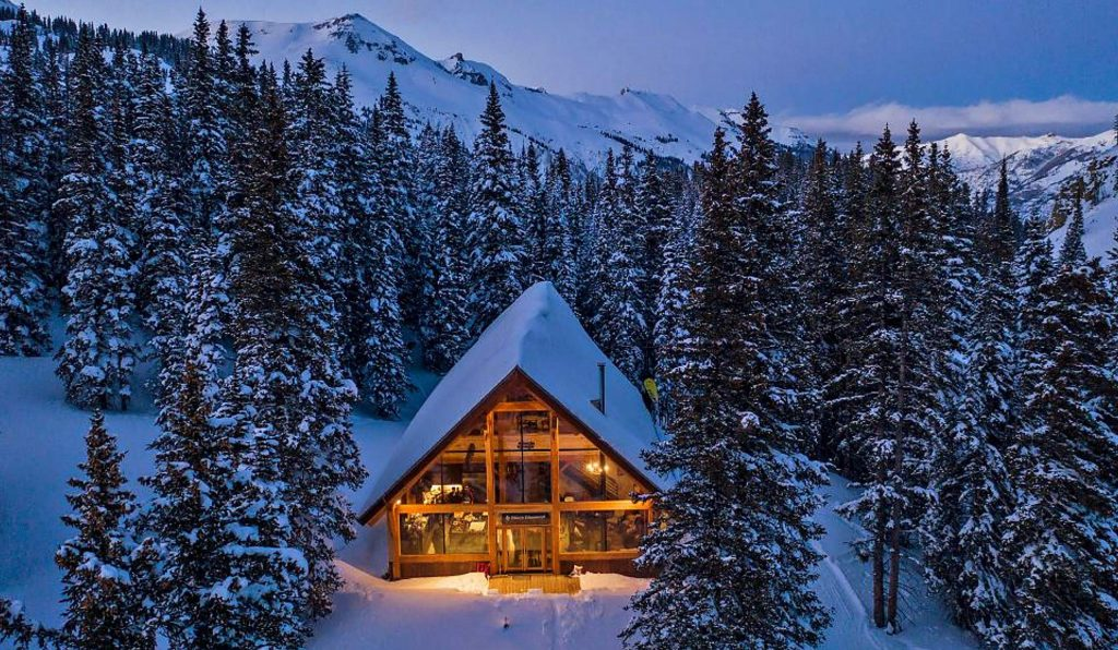 The off-grid Red Mountain Lodge will play host to the inaugural Bliss Point Retreat, a CBD-infused outdoor adventure weekend for women, April 10-12 near Ouray.