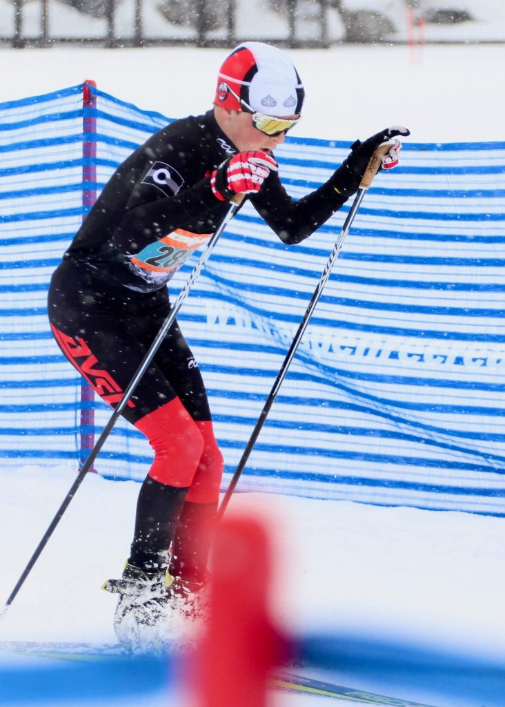 Edwin Ryerson competes in the Owl Creek Chase on Sunday, Feb. 9, 2020, in Aspen.