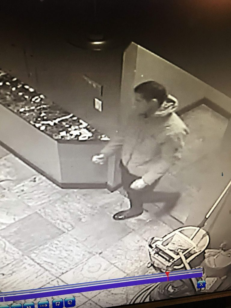 Basalt Police are asking for the public's help to identify and apprehend this man. He broke into the Roots Rx marijuana shop on Tuesday night.