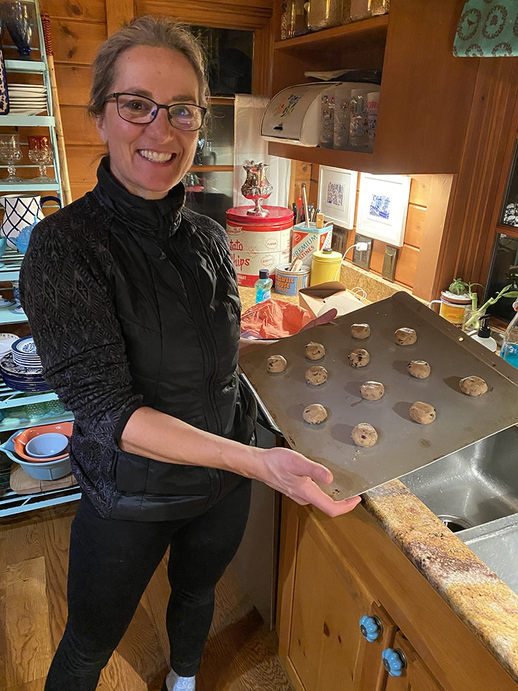 "Baking at home is a great way to pass the time, as shown by MarySue Bonetti, nicknamed ""MarySue Chef"" by friends for her notable skills in the kitchen."