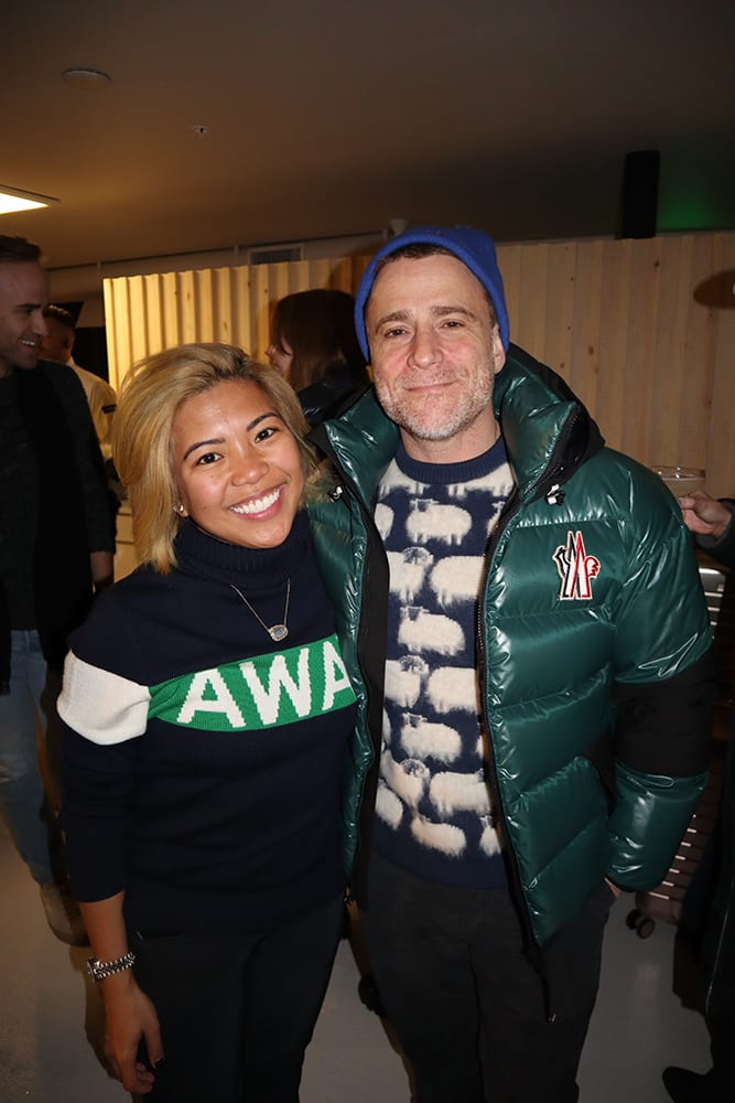 Jen Rubio, co-founder/president/chief brand officer of Away, with her fiance, Stewart Butterfield.