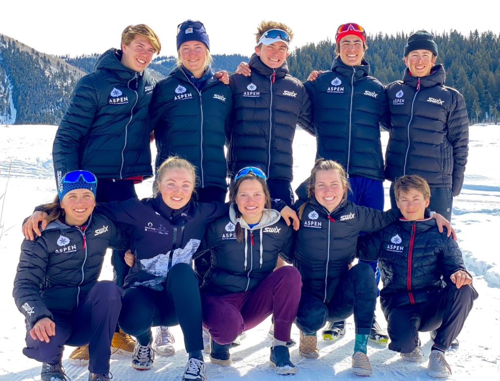 The Aspen Valley Ski and Snowboard Club sent a program record 11 athletes to the cross-country skiing junior nationals in California.