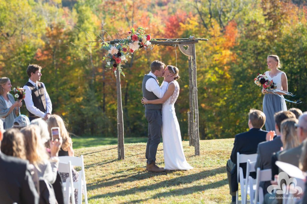 Aspen's Simi Hamilton and Vermont's Sophie Caldwell, both members of the U.S. cross-country ski team, married this past October in Vermont.