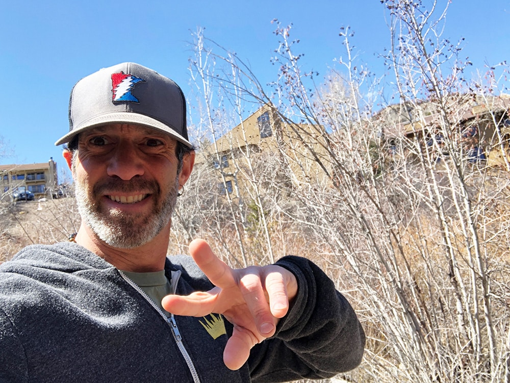 Aaron King is looking forward to opening his new King Yoga studio in Snowmass. Until then, you can follow his virtual workouts online.