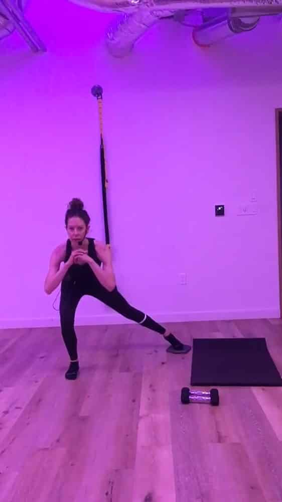 Physical therapist and fitness instructor Jen Metcalf in her studio, Ritual, which is changing names to Higher Terrain.