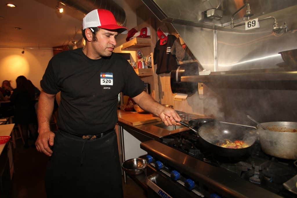 520 Grill owner Troy Selby, in the restaurant set to be rebranded as Silverpeak Grill.