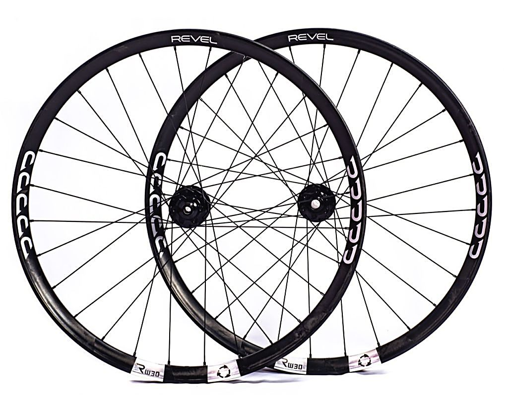 Revel Bikes' RW30 wheel is made from a unique carbon fiber material called Fusion-Fiber.