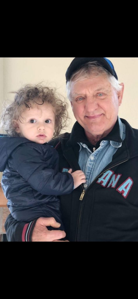 Reader and letter-writing, rabble-rouser Carl Heck enjoyed some nice time with his grandson, Elijah, on his first birthday March 20.